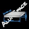 Алюминиевая плита 16 (1,52х3,02) 5083 фрез.