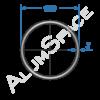 Алюминиевая труба круглая 100х3 Анод