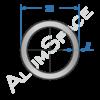 Алюминиевая труба круглая 22х2 Анод