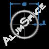 Алюминиевая труба круглая 40х2 Анод
