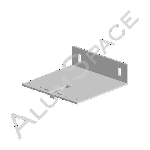 Алюминиевый кронштейн несущий 140х140х40