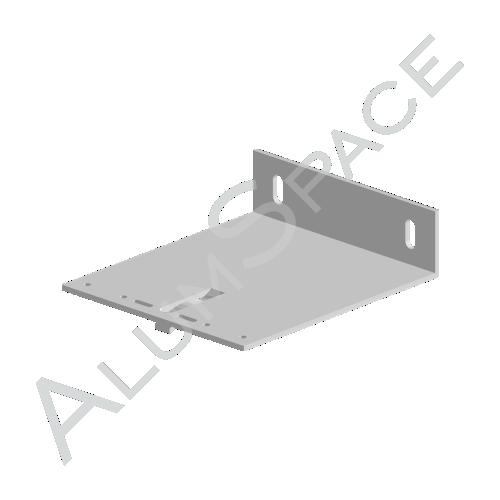 Алюминиевый кронштейн несущий 160х140х40