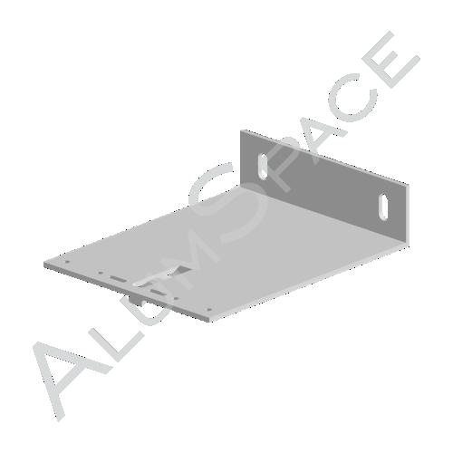 Алюминиевый кронштейн несущий 180х140х40