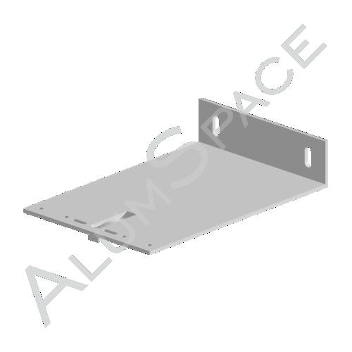 Алюминиевый кронштейн несущий 210х140х40
