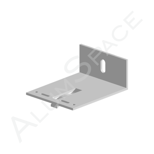 Алюминиевый кронштейн универсальный 100х80х40