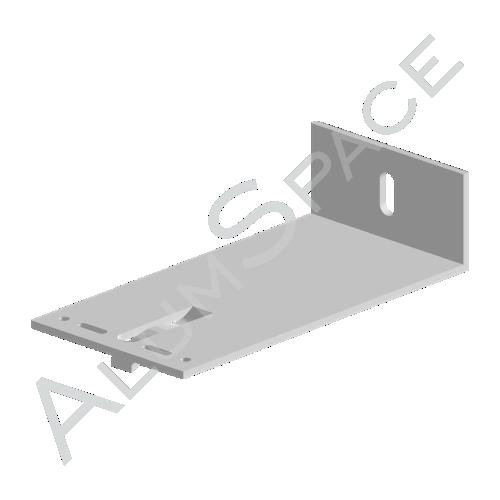 Алюминиевый кронштейн универсальный 60х80х40