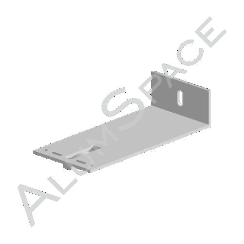 Алюминиевый кронштейн универсальный 80х80х40