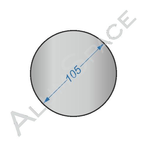 Алюминиевый круг 105 2024 Т351