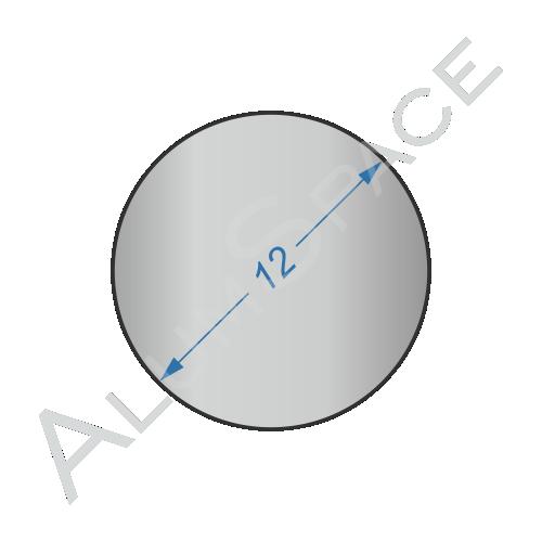Алюминиевый круг 12 2024 Т351