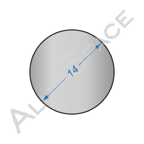 Алюминиевый круг 14 2024 Т351