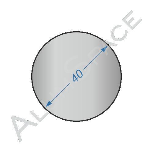 Алюминиевый круг 40 2024 Т351