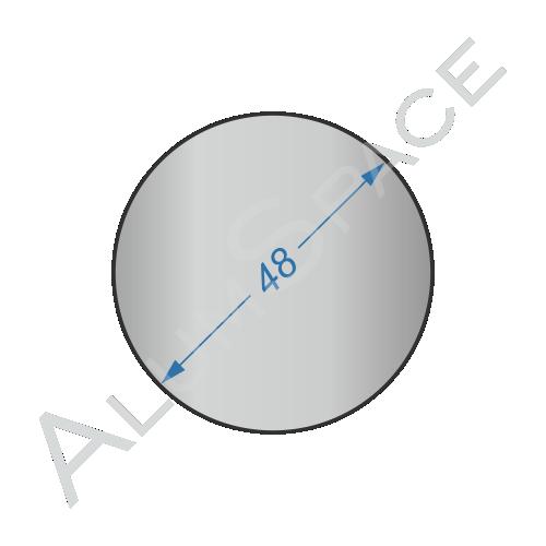 Алюминиевый круг 48 2024Т 351