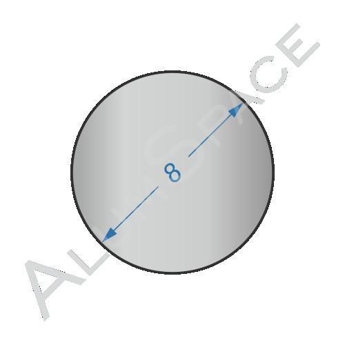 Алюминиевый круг 8 2024 Т351
