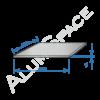 Алюминиевый лист 1,0 (1,25х2,5) 1050 А Н24