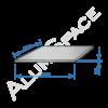 Алюминиевый лист 2,0 (1,0х2,0) 1050 А Н24