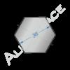 Алюминиевый шестигранник 36 мм