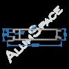 Бортовой алюминиевый профиль — планка нижняя — 100 мм — Анод
